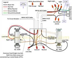 l lighting ceiling fan and light switch wiring diagram