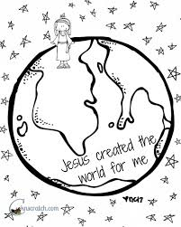 coloring pages for nursery lds behold your little ones lesson 7 jesus christ created the world for