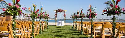 wedding arches san diego san diego weddings catamaran resort and spa