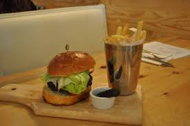 westfield s amuse reopens as butcher block burgers westfield nj content options the bare bones burger at butcher block
