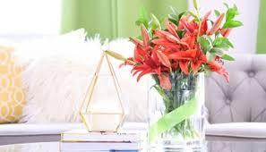 Simple Vase Centerpieces Diy Faux Concrete Dollar Store Vase Casa Watkins Living