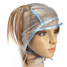 pictures pf frosted hair 1pcs hair color salon dye cap highlighting plastic hook hair