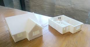 miniature house 3d printing