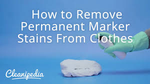 how to get permanent marker off table how to remove permanent marker stains from clothes youtube