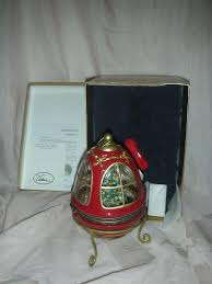 vintage mr christmas music box christmas tree in dome from