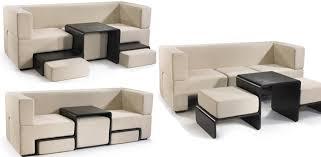 small furniture sleek sofas small spaces smart furniture