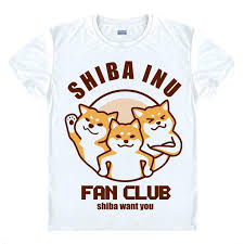 Doge Meme T Shirt - anime shirt doge meme t shirts multi style short sleeve kabosu