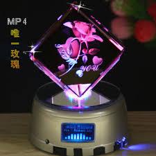 crystal music box crystal diy christmas gift birthday send