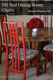 Red Dining Chair Red Fabric Dining Chairs Foter