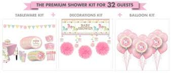 carousel baby shower pink carousel premium baby shower kit party city canada