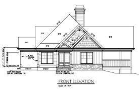 Houseplan by Lake Wedowee Creek Retreat House Plan