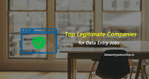 13 legitimate companies for data entry jobs from home data entry