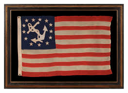 Army Flag Pictures Jeff Bridgman Antique Flags And Painted Furniture Antique