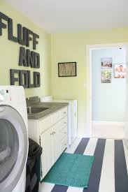low cost home interior design ideas remodelaholic high style low cost laundry room makeover