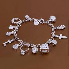 sterling silver bracelet with charms images 925 sterling silver lucky charm bracelet design express jpeg