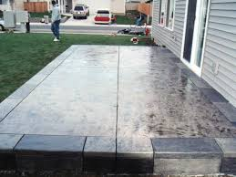 Concrete Paver Patio Ideas by Patio 59 Patio Design Ideas Raised Concrete Patio Designs