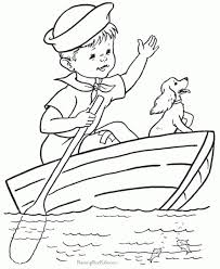 coloring pages boats boats coloring pages www