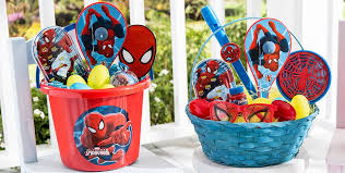spider easter basket build your own easter basket party city canada
