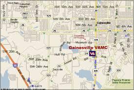 gainesville map malcom randall va center florida south