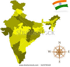 india state map outline download free vector art stock graphics