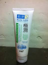 review hada labo gokujyun ultimate moisturizing wash grxdy
