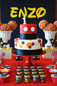 mickey mouse party theme baby shower ideas themes games