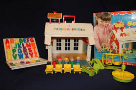 fisher price school house with magnetic letters