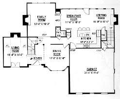 european style house plan 4 beds 2 50 baths 2491 sq ft plan 119 127