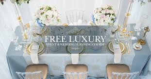 how to become a wedding planner for free free luxury wedding planning course qc event school