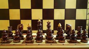 beautiful wooden chess set christmas gift idea youtube