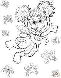 amazing free printable sesame street cartoon coloring pages