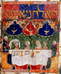 a family haggadah 33 best illuminated manuscripts images on