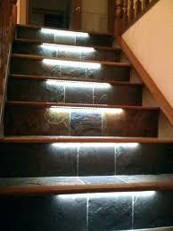 indoor stair lighting ideas basement stair lighting led step lighting lights interior basement