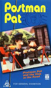 postman pat hole road australian vhs postman