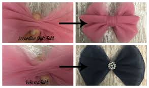 how to make hair bows tulle hair bow how to make no sew tulle bows in 7 simple steps