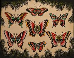 sailor jerry butterflies sailor jerry studio and sailor