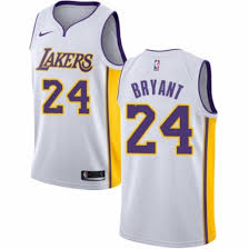 youth nike los angeles lakers 24 kobe bryant authentic white nba