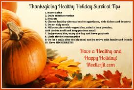 the fit and healthy thanksgiving healthy survival tips
