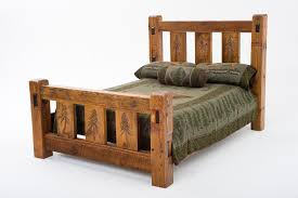 Timber Frame Bed Barnwood Furniture Home Xpressions