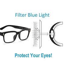 glasses that block fluorescent lights cyxus blue light filter better sleep block uv transparent lens