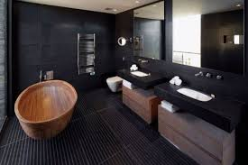 Grey And Black Bathroom Ideas Bold Contemporary Interior Design Ideas Black Bathroom