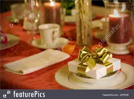 Table Setting Pictures by Served Tables Christmas Table Setting Stock Picture I2376708 At