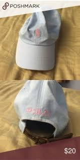 light pink polo baseball cap ralph lauren polo hat pink blue polos and conditioning