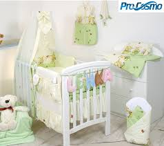 Nursery Cot Bedding Sets Pszczolka 20zielona 20max Baby Bed Bedding Sets 10 Pcs Anti