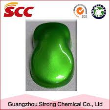 china auto refinish green pearl color car spray paint china