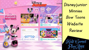 disney junior minnie mouse bow toons review kids tv