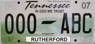 Designs In God We Trust In God We Trust On Tn License Plates Now Available Murfreesboro