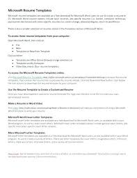 microsoft office resume templates 2010 microsoft office word resume templates 4 a offers numerous for but