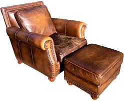 brown chair and ottoman fr guest room something like this to be placed in front of sofa