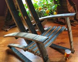 Whiskey Barrel Chairs Whiskey Barrel Chair Etsy